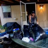 Recovery process begins after Louisiana flooding