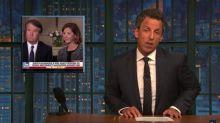 Seth Meyers Hilariously Rips Apart Brett Kavanaugh's Virgin Defense