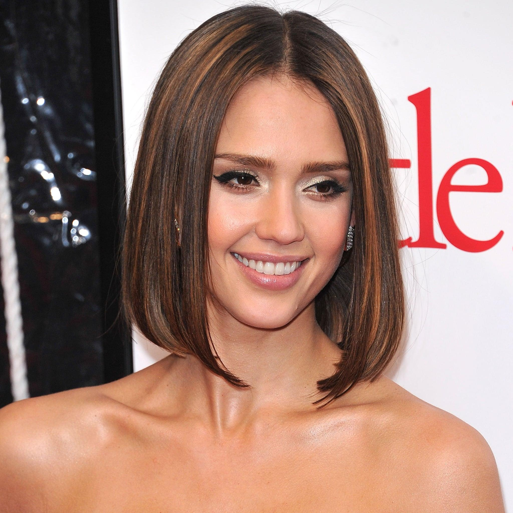 Jessica Alba Is The Ultimate Brown Hair Inspiration And Heres The