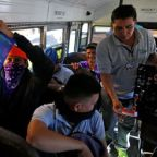 New Salvadoran migrant caravan forms; hundreds wait at U.S.-Mexico border