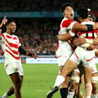 Rugby World Cup 2019: Japan make history to raise host nation's spirits