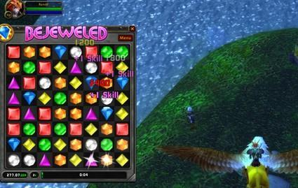 WoW Insider's preview of PopCap Games' Bejeweled addon