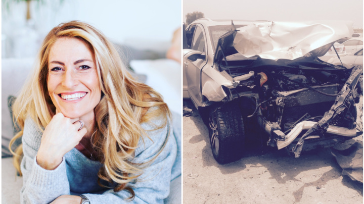 She was driving at 75mph. Then she passed out