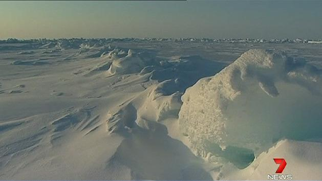 Shrinking ice could explain cold snap