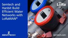 Semtech and Hanbit Build Efficient Water Networks with LoRa Devices