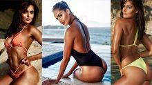 Nathalia Kaur Beach Look | Nathalia Kaur Bikni Look Viral