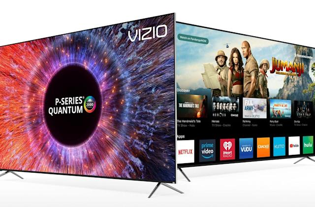 Vizio's best TV from last year is on sale for $1,080
