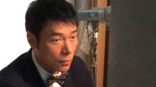 Andy Hui in Taiwan for new TV series