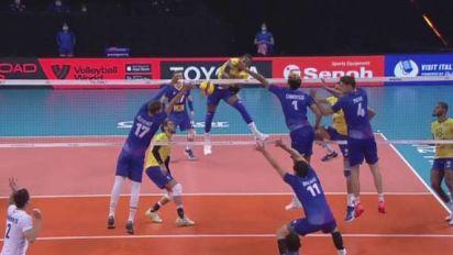 Volley - LDN - Ligue des nations : Le résumé de France-Brésil en vidéo