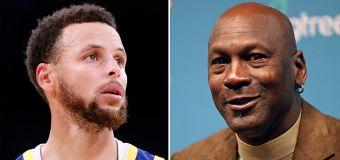 Michael Jordan divides fans after Steph Curry snub