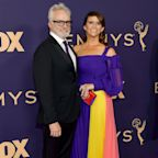 Newlyweds Bradley Whitford and Amy Landecker Walk Emmys Red Carpet Together