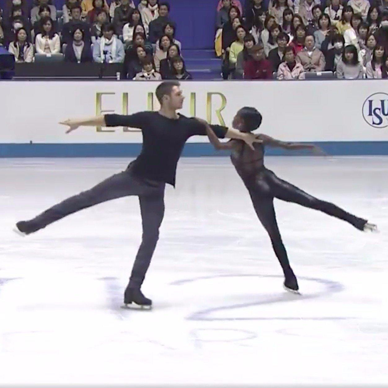 2 French Figure Skaters Are Enchanting The Internet With