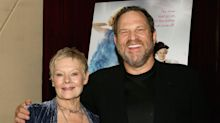 Judi Dench says she was 'lucky' to never experience 'that other side' of Harvey Weinstein