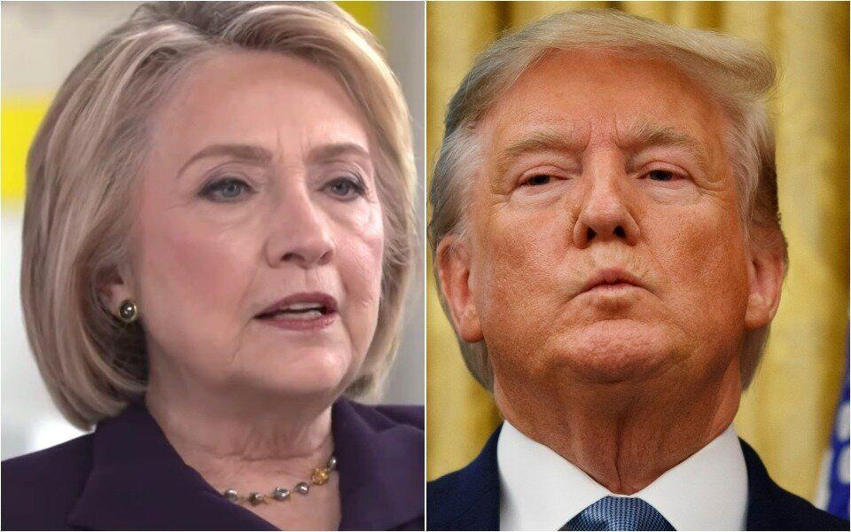 Hillary Clinton Taunts 'Obsessed' Trump: 'Obviously, I Can Beat Him Again'