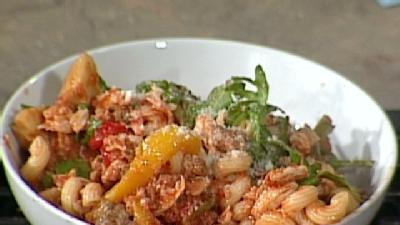 Learn How To Make Chicken And Sausage Cavatappi