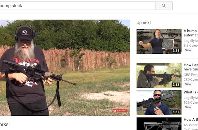YouTube bans gun modding tutorials after Las Vegas shooting