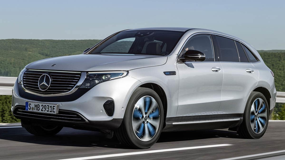 All-Electric 2020 Mercedes-Benz EQC Latest Challenge to Tesla