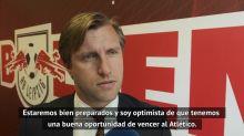 """Krösche: """"Tenemos una buena oportunidad de vencer al Atlético"""""""