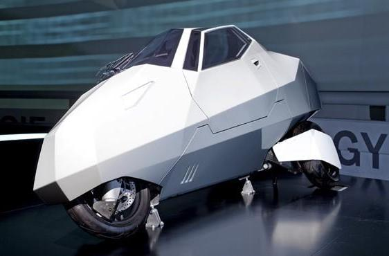 BMW makes the awesome look SIMPLE with leaning three-wheeler (video)