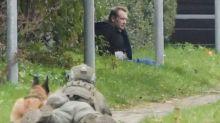 Peter Madsen: Police surround Danish inventor who killed journalist after prison escape attempt