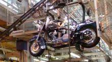 Trump calls for boycott of Harley Davidson