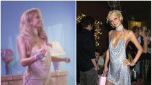 36-year-old Paris Hilton just rewore her 21st birthday dress