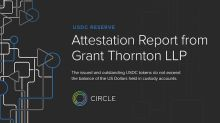 Circle releases Grant Thornton attestation report on USD Coin