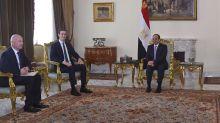 Popular hashtags take sides on Egypt president's leadership