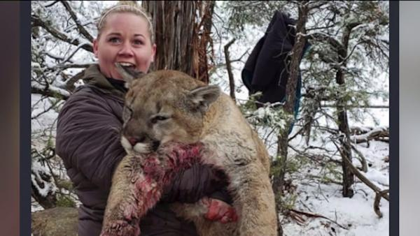 Hunter shamed for posting photos of 'trophy kill'