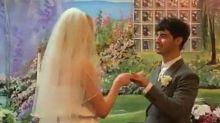 Sophie Turner and Joe Jonas 'marry' in surprise Las Vegas ceremony