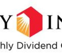 607th Consecutive Common Stock Monthly Dividend Declared By Realty Income