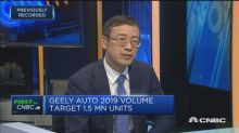 China's automobile market is 'quite tough': Geely Automob...