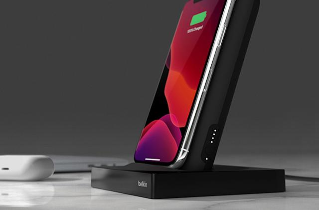 Belkin recalls portable phone charging stand over fire risk