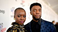 Danai Gurira pays tribute to 'Black Panther' co-star Chadwick Boseman: 'How do you honor a king?'