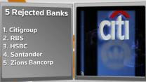 Fed rejects Citigroup's buyback plan