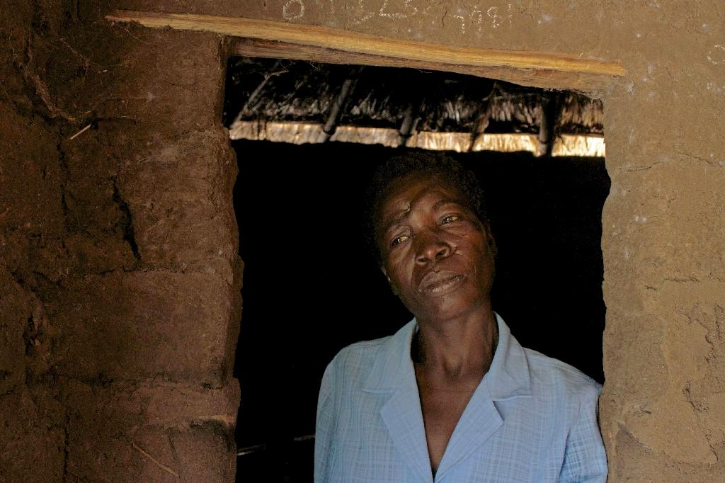 A woman accused of witchcraft in northern Tanzania. Such accusations are common in parts of Africa (AFP Photo/ERIN BYRNES)