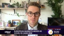 European markets mixed as Covid-19 cases rise