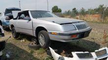 Junkyard Gem: 1991 Chrysler LeBaron GTC Convertible