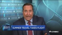 Summer travel takes flight as jet fuel surges