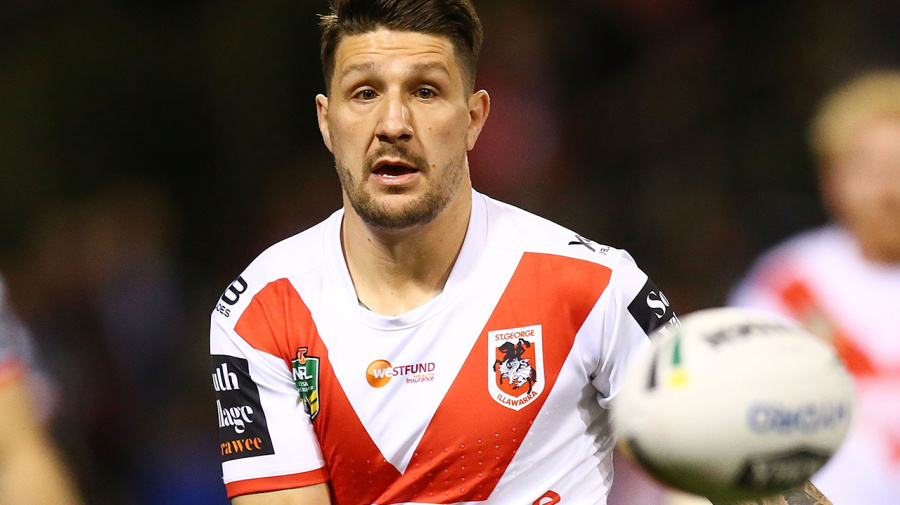 The one condition in Widdop's exit from Dragons