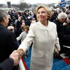 Hillary Clinton opened up about what it was like to attend Trump's inauguration