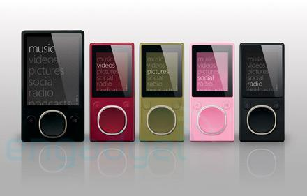 Zune 2 bits and pieces, plus an in-depth interface video