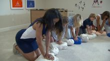 Maryland mom hosts CPR parties to empower parents in her community