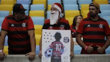 Flamengo plays 1st match since academy fire that killed 10