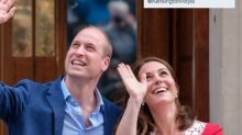 La duquesa Catalina abandona el hospital siete horas después de dar a luz