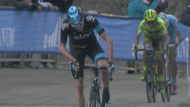 Froome wins stage four of Tirreno-Adriatico