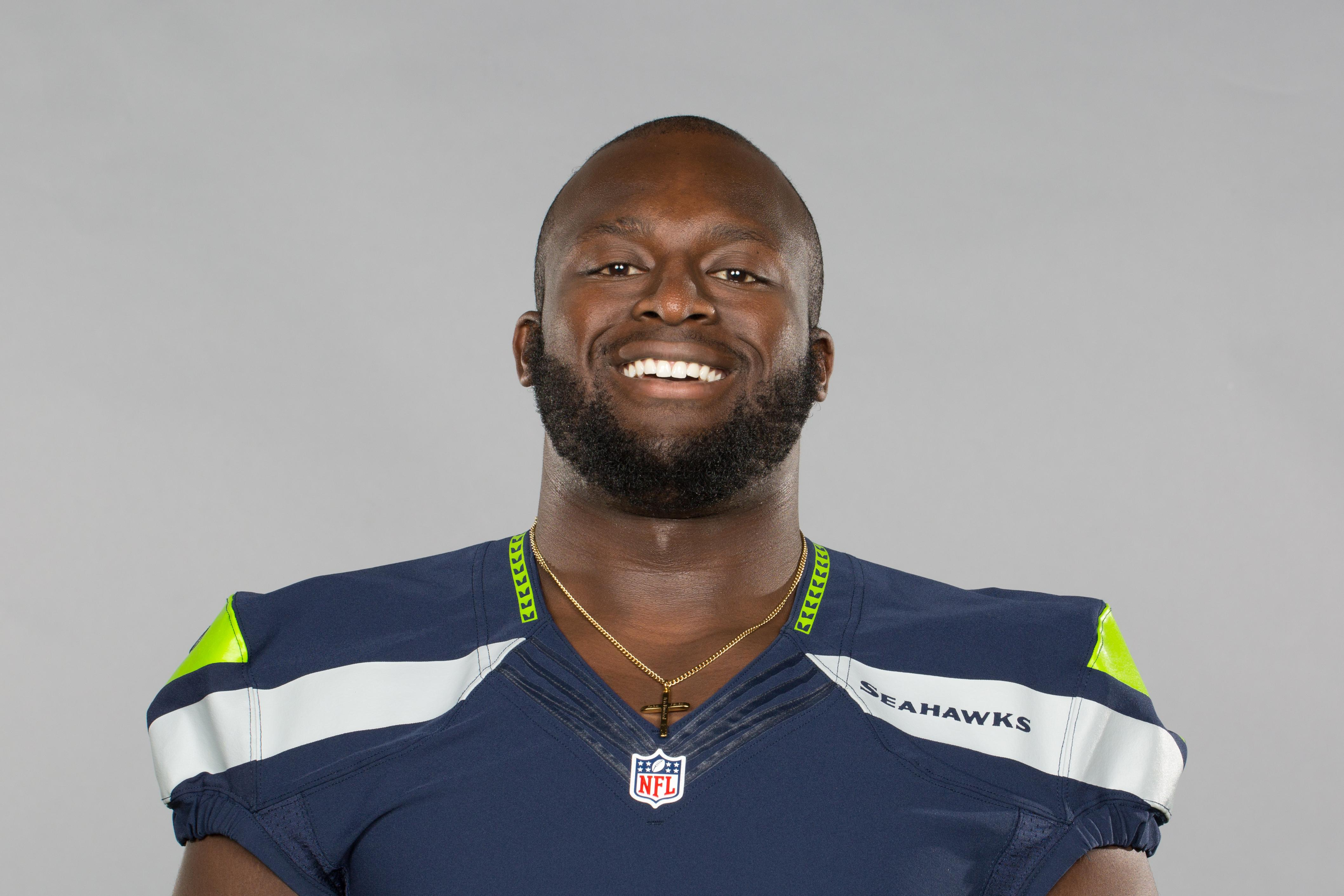 detailed look 87a8a 0929d Seahawks OL Rees Odhiambo hospitalized