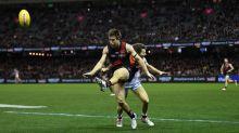 Essendon's AFL star Merrett hurts ankle