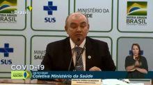 Brasil registra 1.223 óbitos em 24h, segundo MS