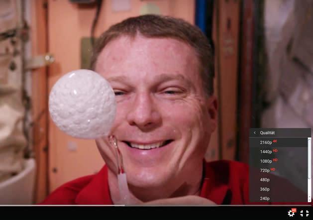 4K-Videos: NASA hat der ISS eine neue Kamera spendiert
